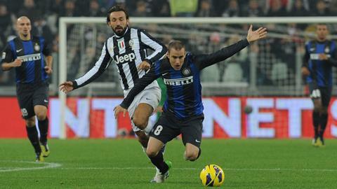 Cuộc đối đầu giữa Juventus và Inter luôn diễn ra sôi nổi, kịch tính