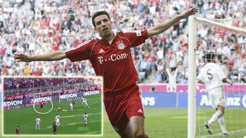 Cựu tiền đạo Roy Makaay của Bayern Munich