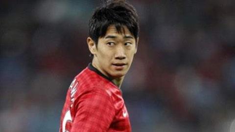 Kagawa mới được chơi có 7 phút ở mùa giải này.