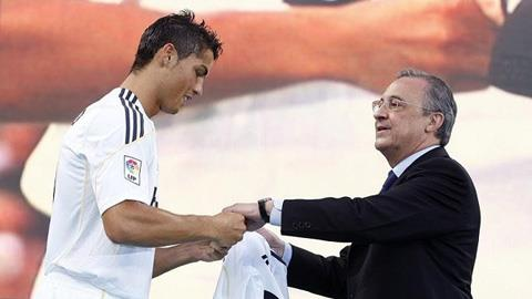 Ronaldo là một huyền thoại của sân Bernabeu