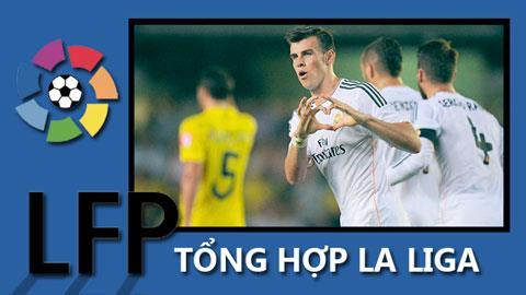 Gareth Bale đã ghi bàn trong trận ra mắt gặp Villarreal