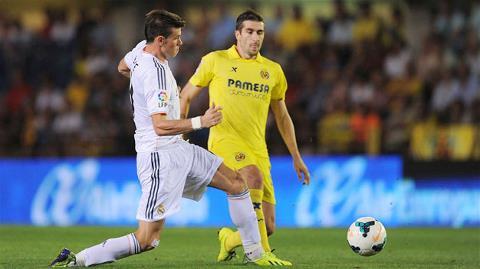Real (trái) chỉ giành được 1 điểm trước Villarreal