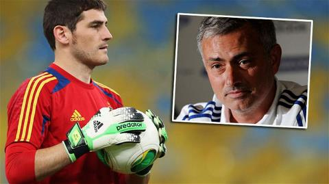 Mourinho mong Casillas được bắt chính