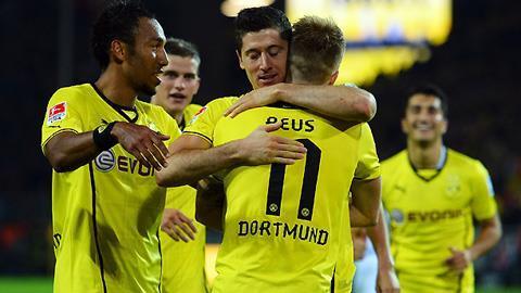 Dortmund sở hữu đội hình đồng đều, chất lượng