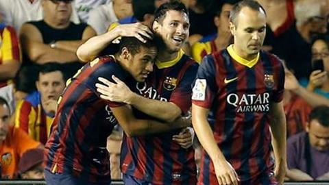 """Barca cần sự """"giao liên"""" giữa Neymar và Iniesta"""