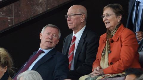 Sir Alex và Sir Bobby Charlton