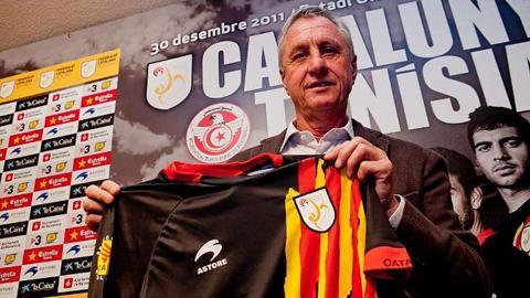 Johan Cruyff là người đặt nền móng cho sự giao thoa giữa Barca và Ajax