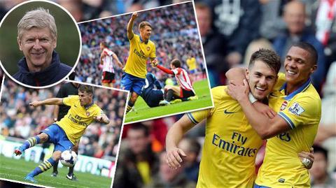 Ramsey lại một lần nữa tỏa sáng