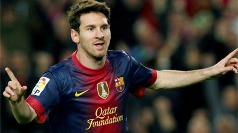 Messi tiếp tục con đường trở thành huyền thoại