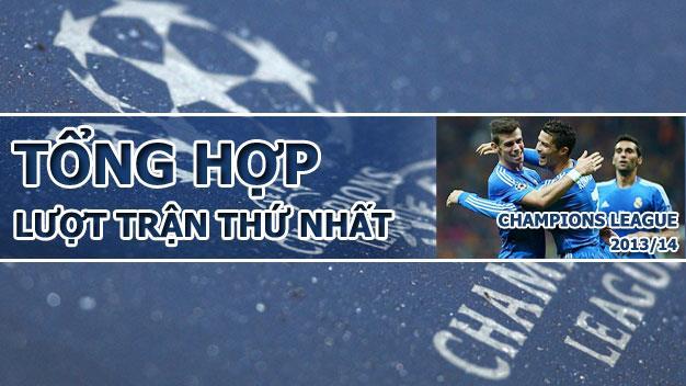 Tổng hợp lượt trận thứ nhất vòng bảng Champions League