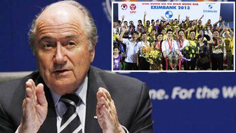 Chủ tịch FIFA Sepp Blatter gửi thư chúc mừng HN.T&T