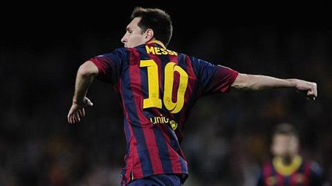 Niềm vui của Leo Messi