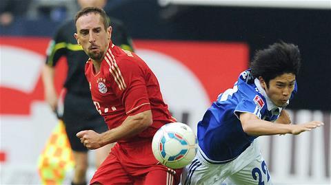 Ribery (trái) cùng Bayern sẽ mở màn lễ hội Oktoberfest bằng một chiến thắng