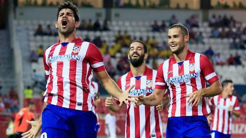 Diego Costa (bìa trái) sẽ ghi bàn giúp Atletico có chiến thắng thứ 5 liên tiếp tại La Liga?