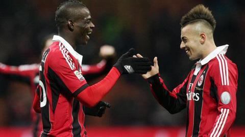 Balotelli và El Sharaawy, những người thích