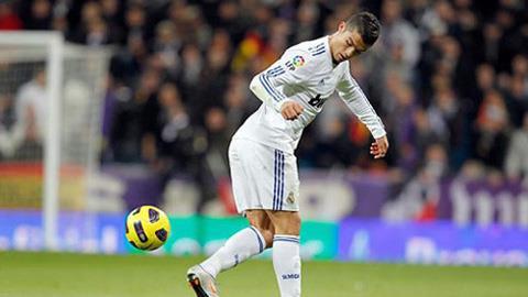 Ronaldo có khá nhiều pha lập công bằng gót