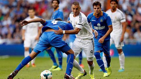 Benzema đã có một trận gây thất vọng