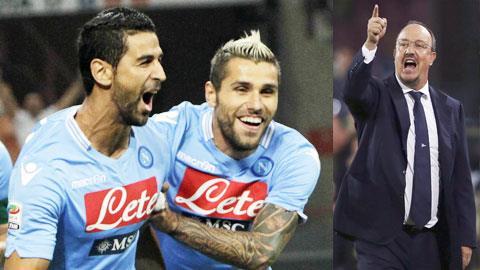 Benitez và Napoli đã vượt qua bài test lớn đầu tiên một cách xuất sắc