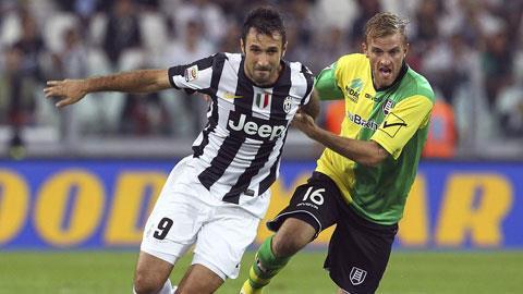 Chievo đủ sức gây khó dễ cho Juventus (trái)