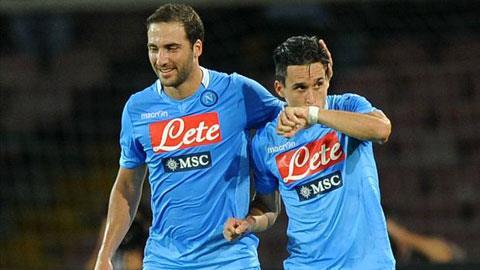 Một chiến thắng đậm đà là mục tiêu không khó với Napoli