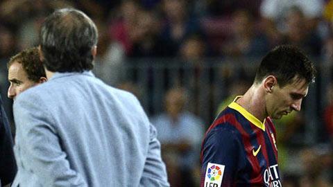 HLV Martino và Messi