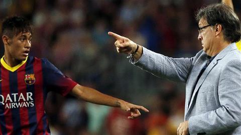 Martino sẵn sàng cho bản hợp đồng trị giá 57 triệu euro như Neymar ngồi dự bị