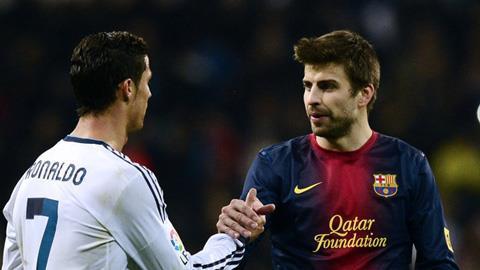 Real (trái) và Barca thay nhau thống trị La Liga
