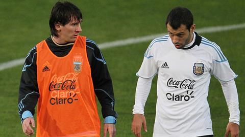 Messi và Mascherano