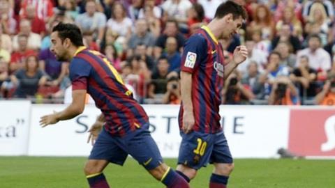 Messi có thể lỡ Champions League giữa tuần
