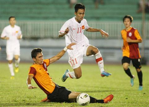 U23 Việt Nam vs U23 Santos