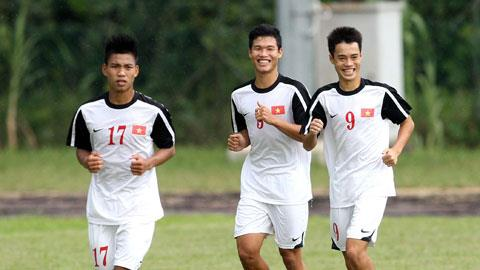 Toàn đội U19 Việt Nam vô cùng thoải mái và tự tin trước trận khai màn với Đài Loan