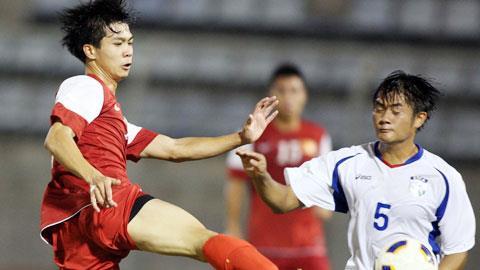 U19 Việt Nam (áo đỏ)