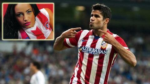 Michele Zuanne - Atletico Madrid Player Diego Costa's Ex ... |Michele Zuanne