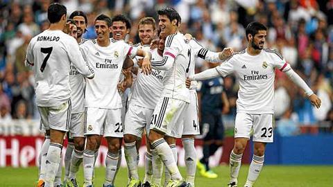 Real đang mang lại hi vọng cho CĐV sau màn trình diễn trước Malaga