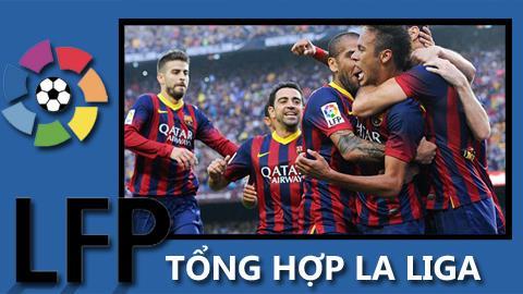 BongdaplusTV: Tổng hợp vòng 10 La Liga