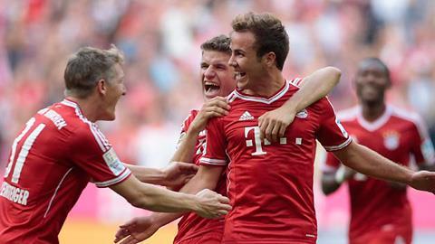 Bayern đã có thể xoa tay hài lòng vì Goetze