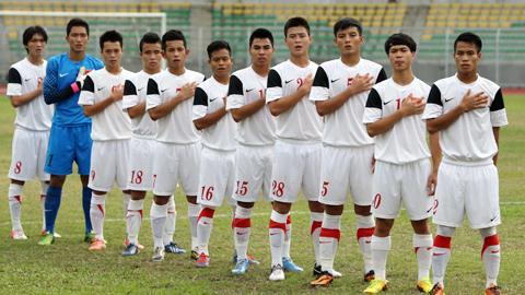 ĐT U19 Việt Nam. Ảnh: Minh Tuấn