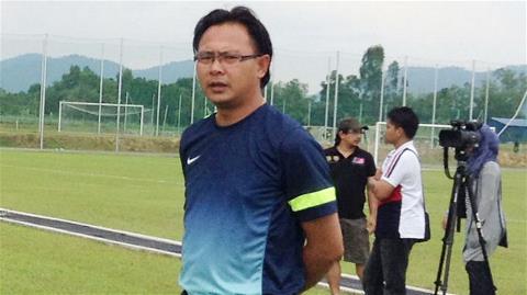 HLV Ong Kim Swee của U23 Malaysia