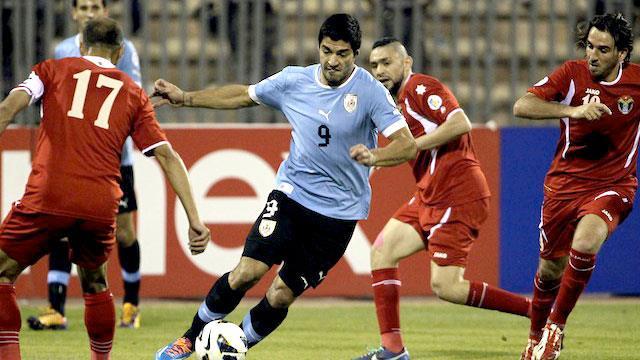 Uruguay vs Jordan