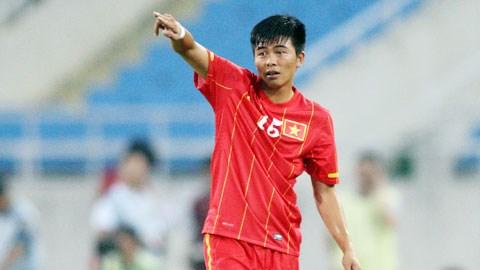 Trung vệ Phạm Mạnh Hùng