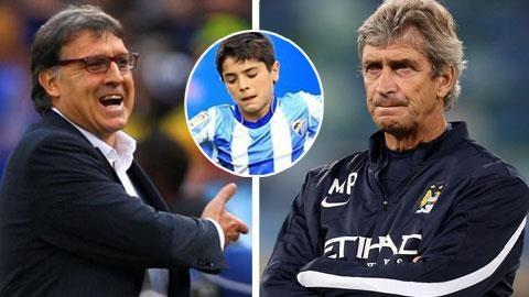 """Man City đánh bại Barca để có """"ngọc thô"""" 14 tuổi"""
