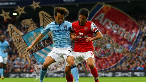 10 thống kê đáng chú ý trận Man City - Arsenal