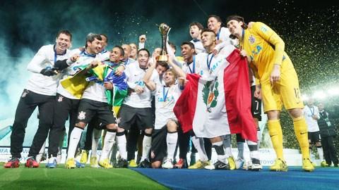 Corinthians đút túi tới 5 triệu USD sau chức vô địch năm 2012