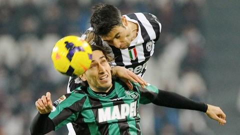 Không mấy khó khăn để Juventus (trên) dội mưa bàn thắng vào lưới Avellino