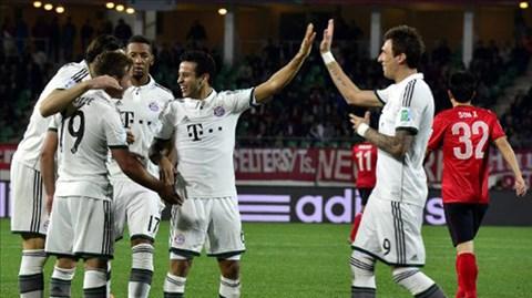 Bayern đã dễ dàng vượt qua vòng bán kết FIFA Club World Cup 2013