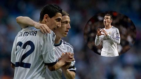 Di Maria không cam phận làm kép phụ cho Gareth Bale tại Real