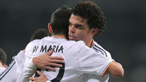 Di Maria để lại dấu ấn ở cả hai bàn thắng của Real