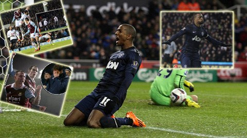 M.U có chiến thắng nhẹ nhàng, trong khi Tottenham bị loại cay đắng