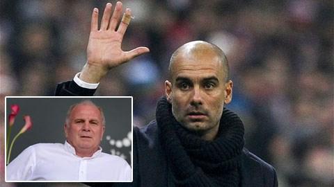 Hoeness đang mang Guardiola đến với Bayern