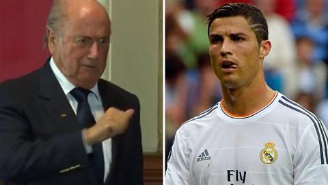 Blatter cho rằng Ronaldo xứng đáng giành QBV FIFA 2013